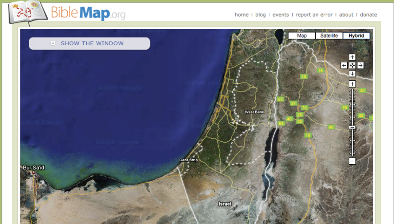 BibleMap.org is a free online resource