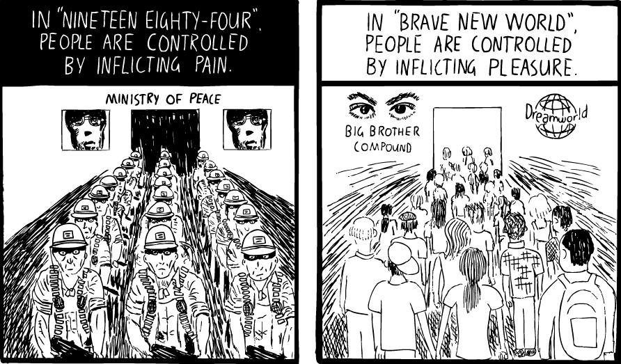 Brave New World orgie-Porgy
